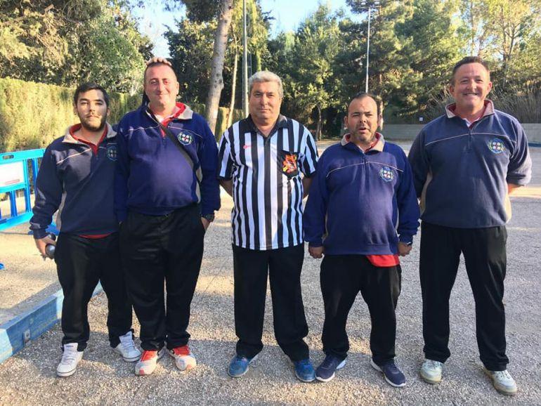 Representantes del Vergel P. C. en el Campeonato de España