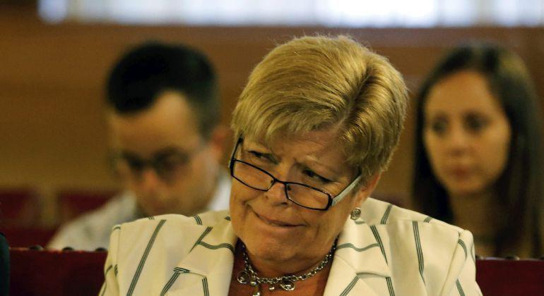 Milagrosa Martínez entrará en prisión el 24 de mayo