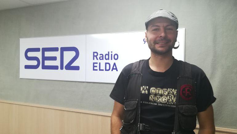 El director, Ales Payá en Radio Elda SER