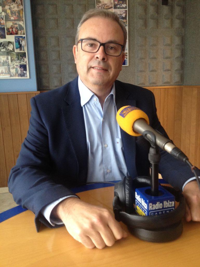 Vicent Torres, presidente del Consell de Ibiza