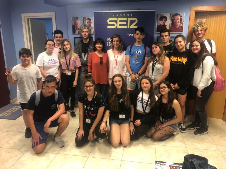 Los alumnos y alumnas del IES Sant Agustí