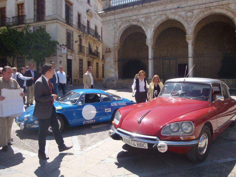 Presentación del rallie Ciudad de Jerez en el Consistorio
