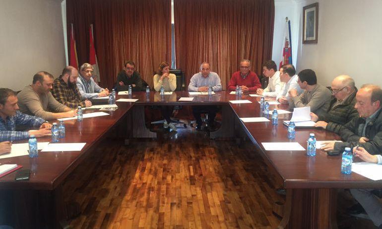 Una reunión de los componentes de la Asociación Regional de Municipios Mineros, ARMI
