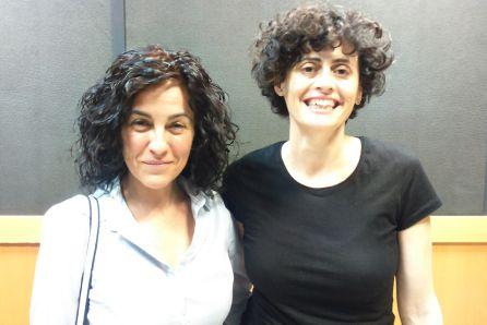 Eva Zapico, directora, y Patricia Pardo, coautora de Els Nostres
