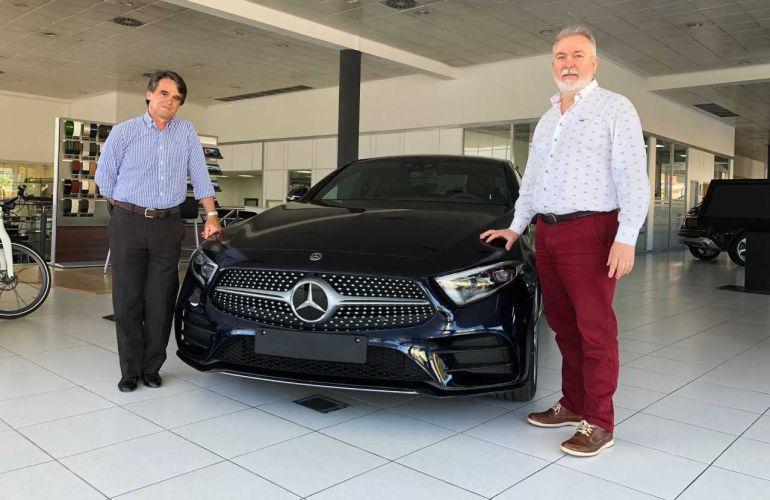 Juanjo Fernández junto a Juan Antonio Almansa.