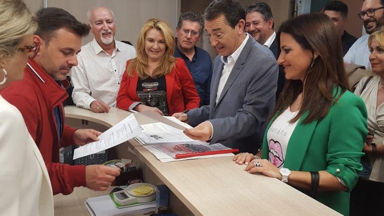 El Comité de Ética del PSOE de Almería recibe una precandidatura.