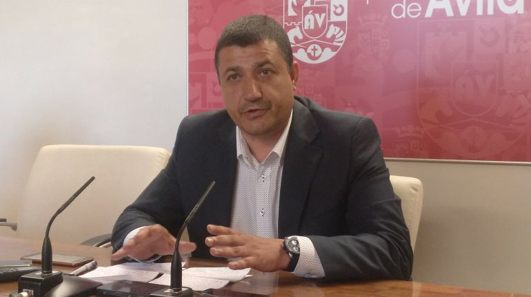 Carlos Garcia, presidente del PP de Ávila