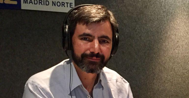 Rubén Holguera, portavoz de Izquierda Independiente en los estudios de SER Madrid Norte
