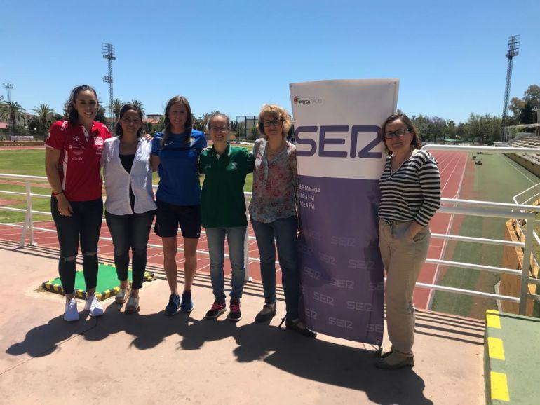 Las mujeres deportistas malagueñas piden su sitio: Las mujeres deportistas malagueñas piden su sitio