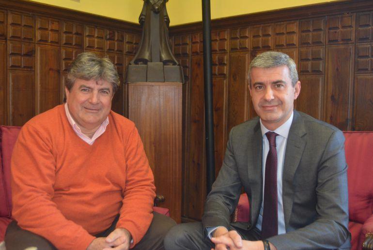 La Diputación felicita al alcalde de Montearagón por su trabajo en el municipio