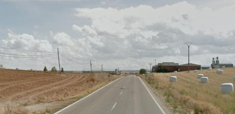 """Tramo de carretera donde la conductora ha sido """"cazada""""."""