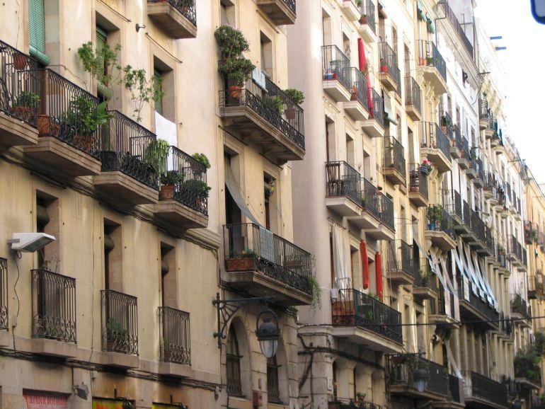 Imatge del carrer Princesa de Barcelona