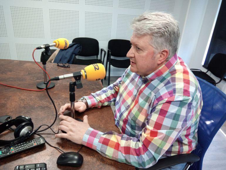 Ricardo Miranda, en Radio Bierzo