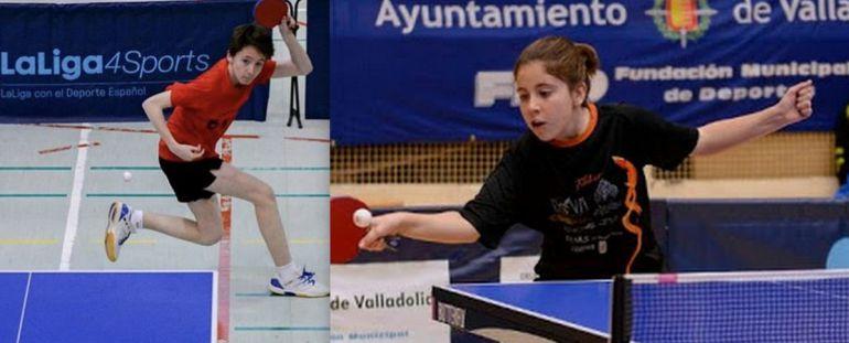 José Carlos Guillto e Irene Sánchez están entre los mejores de España