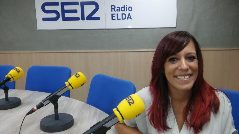 Laura Rizo, concejala de fiesta Elda