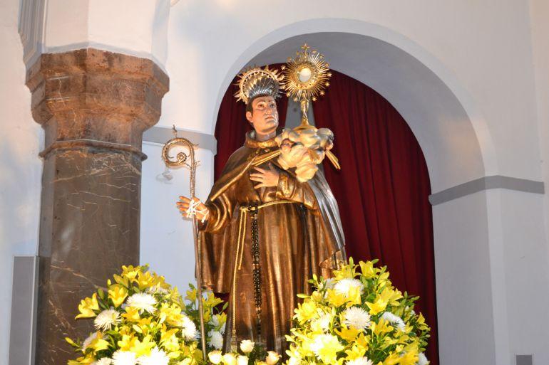Imagen de San Pascual, patrón de Pinos Puente (Granada)