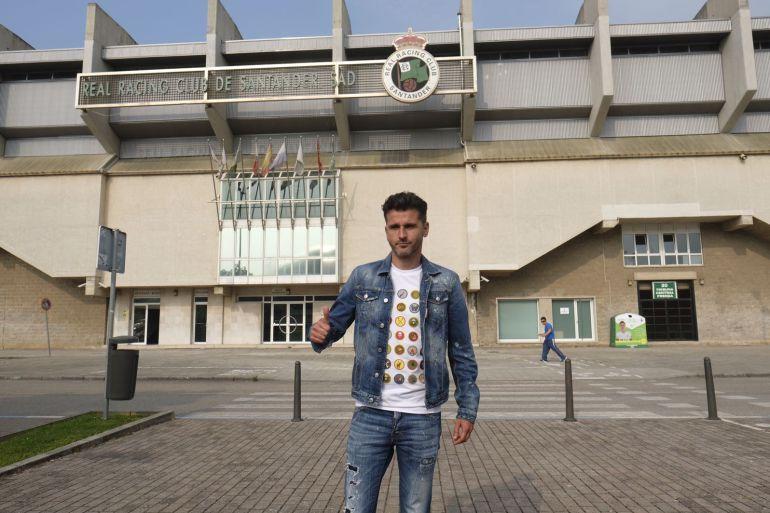 Iván Ania, recién llegado a Santander.