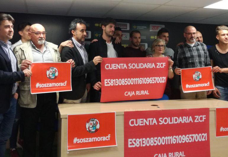 El Zamora abre una cuenta solidaria
