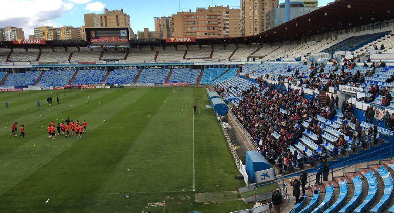 El Albacete quiere puntuar en Zaragoza para no meterse en más problemas