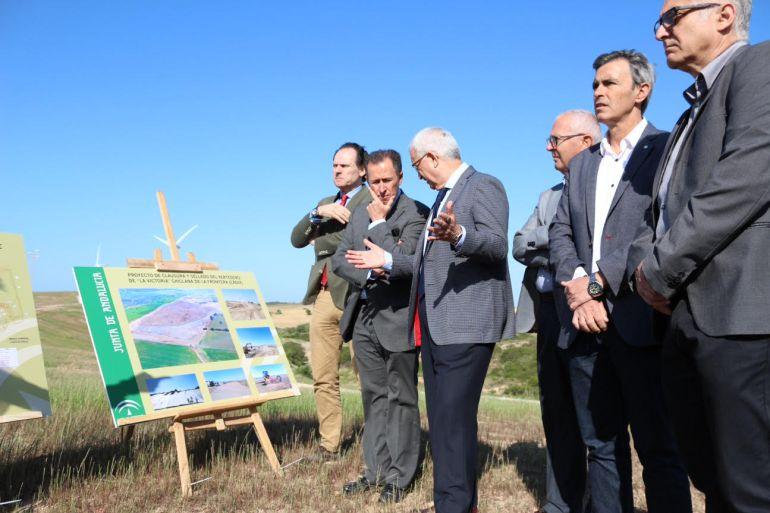 Presentación del proyecto de estación de transferencia de residuos en Chiclana