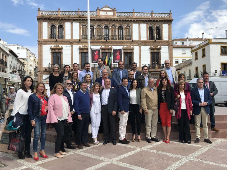 El PP andaluz celebra este fin de semana su reunión Interparlamentaria en el edificio del Círculo de Artistas de Ronda.