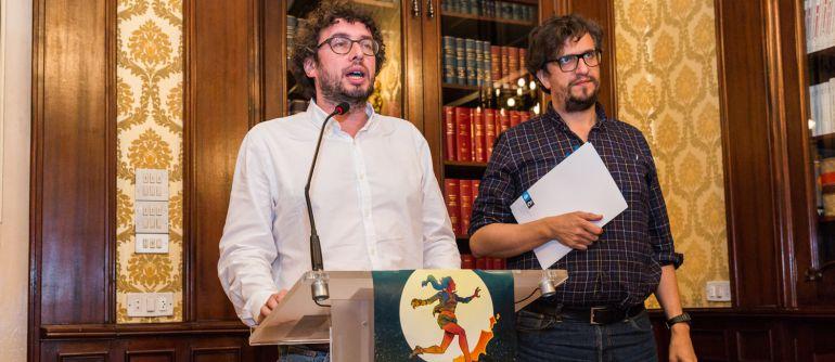 José Manuel Sande y Alberto Lema