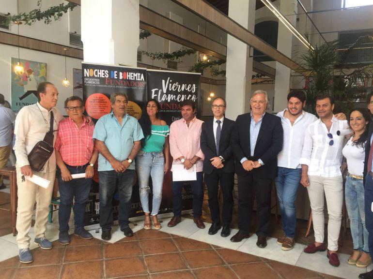 """Las bodegas Fundador han acogido la presentación de """"Noches de Bohemia"""" y los """"Viernes Flamencos"""""""