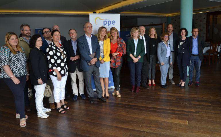 Los eurodiputados anunciaron novedades en favor de los agricultores y ganaderos de Menorca.