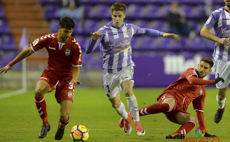Pichichi Mata contra el Lorca FC y su fortín