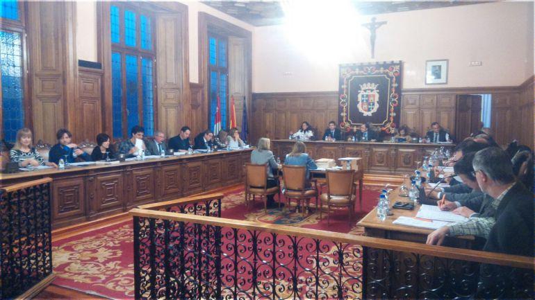 Pleno del Ayuntamiento de Palencia
