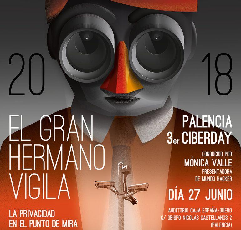Cartel del III Ciberday de Palencia