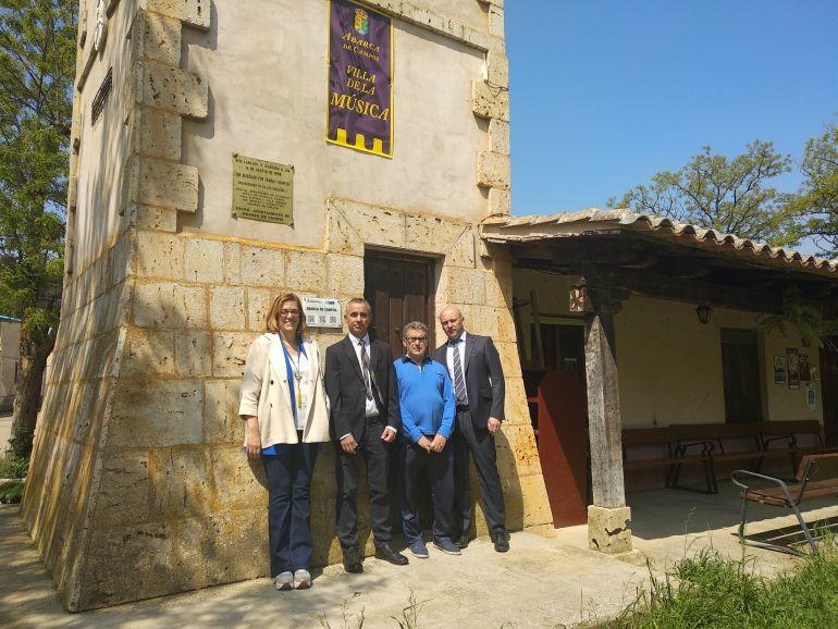 El carillón de Abarca de Campos (Palencia) mantiene su característico sonido