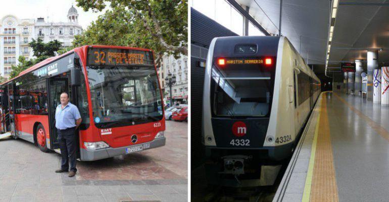 Dos unidades de EMT y Metro Valencia, dos de los operadores que salen perjudicados de los Presupuestos Generales del Estado