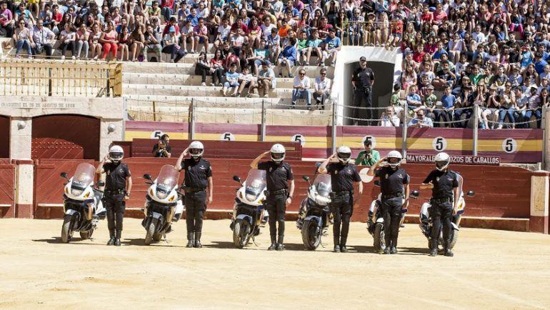 La Policía Nacional realizará una exhibición en la Plaza de Toros de Almería.