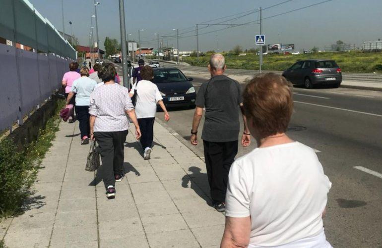 La iniciativa recorre durante cuatro kilómetros varios puntos con nombre de mujer de la localidad