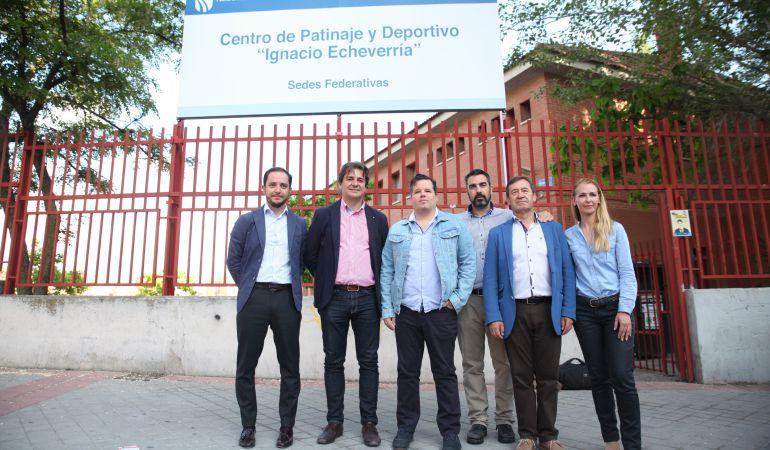 El centro de patinaje y skate de Fuenlabrada ha sido bautizado con el nombre de Ignacio Echeverría.