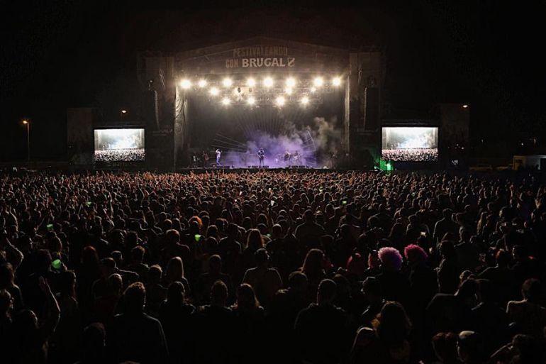 Miles de personas asistieron a la explanada del Cortijo del Conde