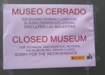 Cierra el Museo del Greco porque sus trabajadores se plantan