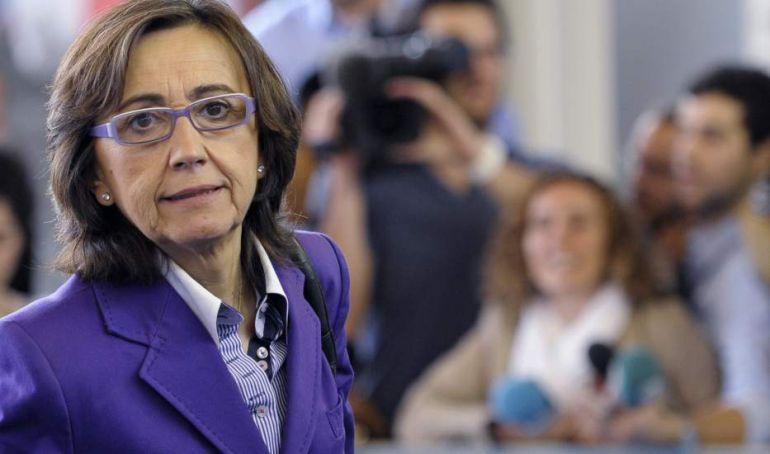Rosa Aguilar, consejera de Justicia e Interior.
