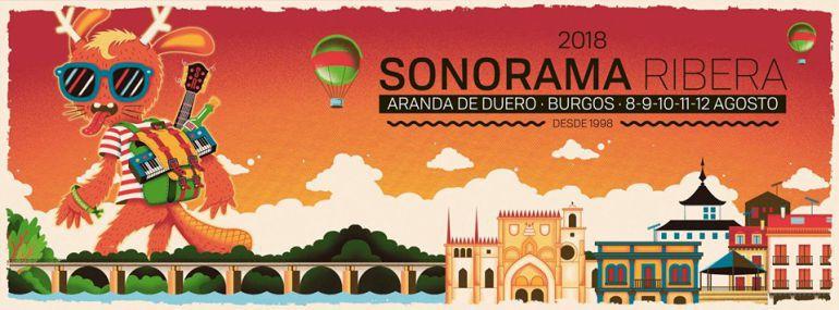 Cartel de Sonorama Ribera 2018
