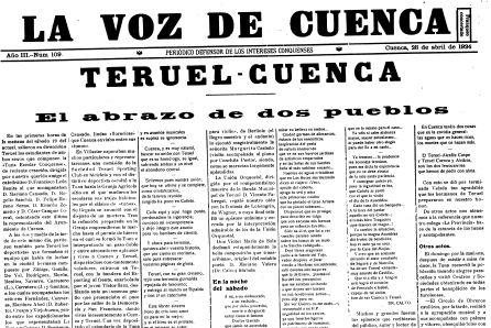 Cuenca y Teruel, casi un siglo de hermanamiento y reivindicaciones comunes
