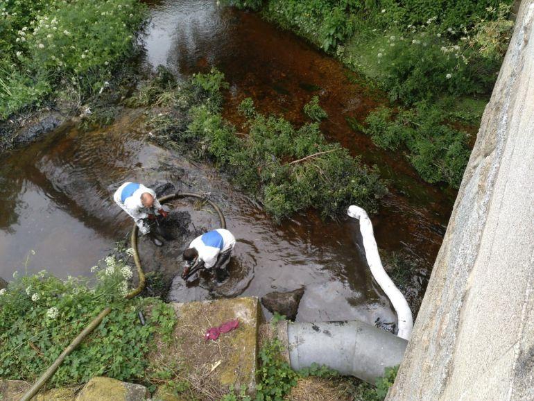 Los trabajos de descontaminación durarán entre dos y tres semanas