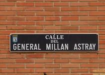 La Justicia obliga a Carmena a mantener el nombre de la calle General Millán Astray