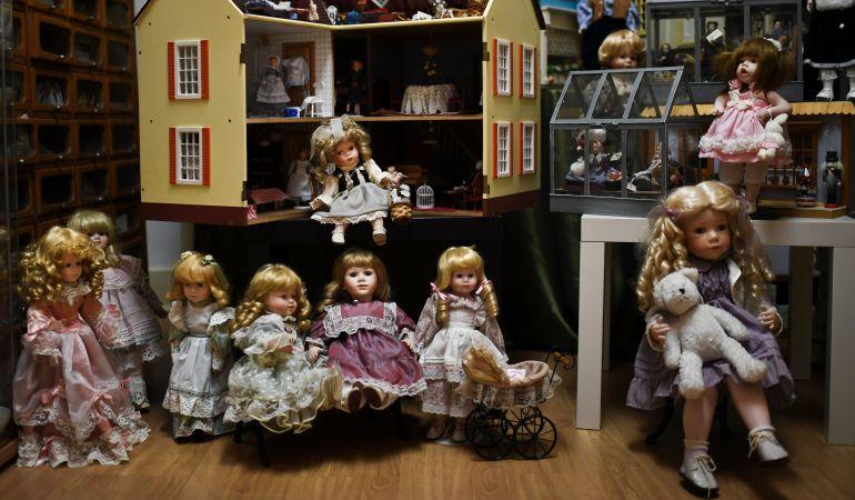Los juguetes antiguos están hasta hoy en la Casa de la Cadena de Pinto