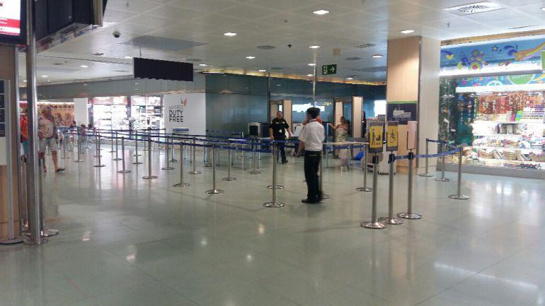 Imagen de archivo de los filtros del Aeropuerto