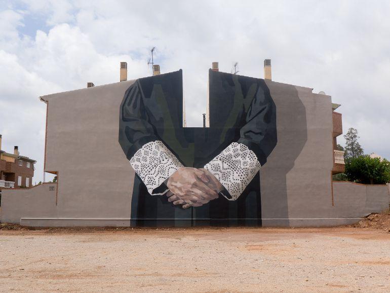 Hyuro mural: Mural de la artista Hyuro para despedir el TEST