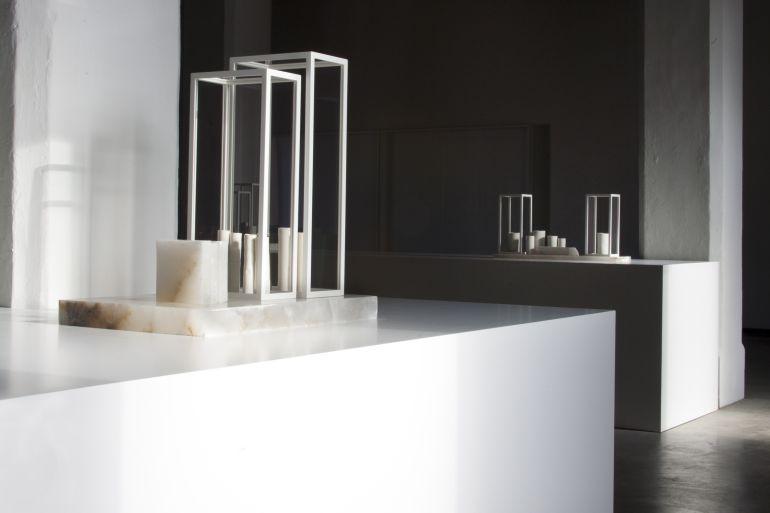 Algunas de las obras que conforman la muestra