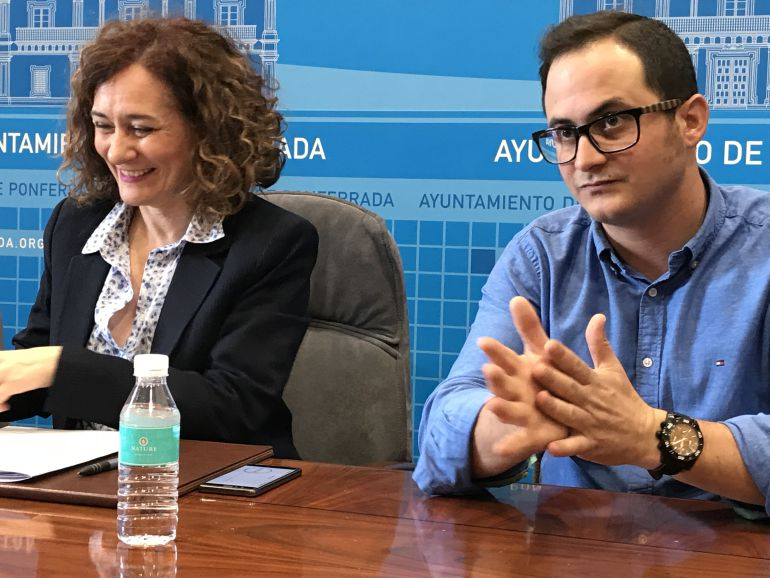 Álvaro Rajo, en la presentación como concejal de Ponferrada