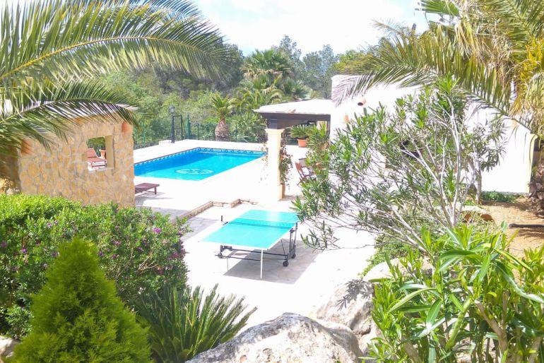 Vivienda turística en la zona norte de Ibiza