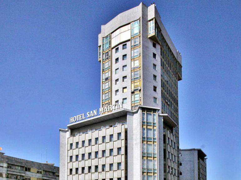 Imagen de archivo del antiguo hotel San Martín.